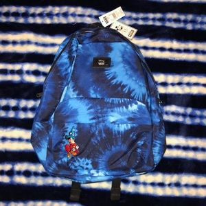 Tie dye Mickey Vans Backpack